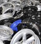 smaltimento alluminio - cerchi auto
