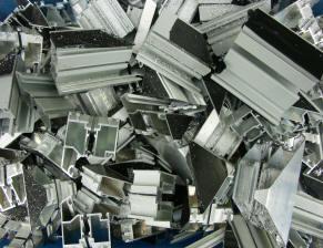 smaltimento alluminio - scarti profili
