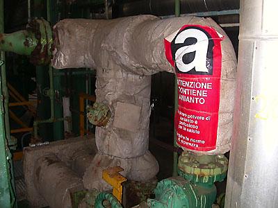 tubazione amianto