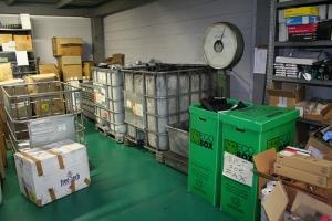 stoccaggio rifiuti cartucce e toner