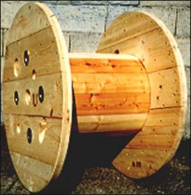 rifiuti legno - bobina