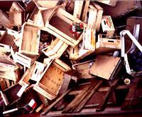 rifiuti legno - cassette