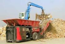 smaltimento legno - triturazione