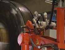 ricostruzione pneumatico - applicazione a caldo
