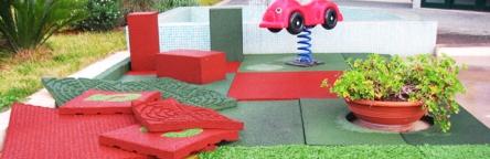 esempi pavimentazione antitrauma