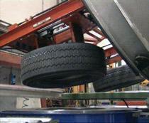 smaltimento pneumatici - ricostruzione - selezione