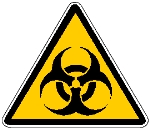 Simbolo rischio biologico